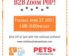 NYC Re-tails & Sales Expo! B2B Zoom Pop April 27, 2021!